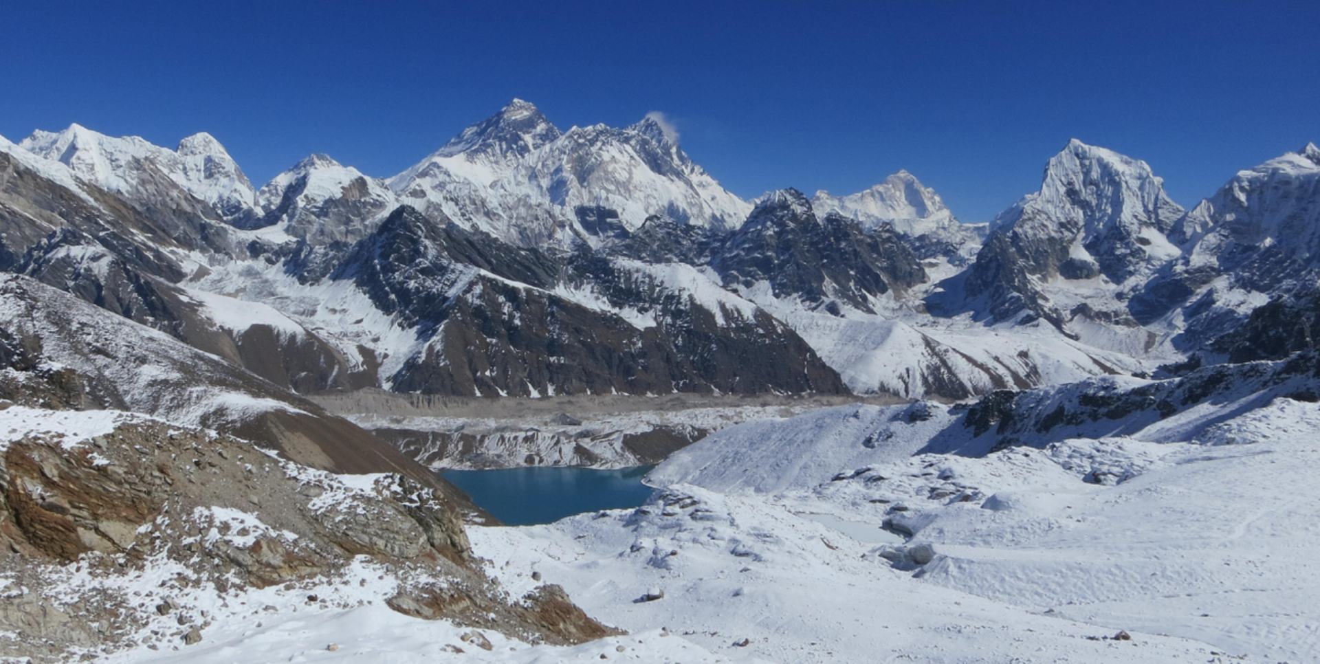 View from Renjo Pass - Nepal